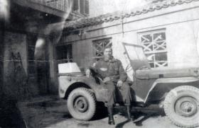 Pte Thomas Jarvis in Greece, 1944