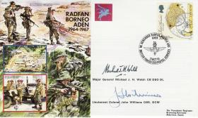 Radfan, Borneo and Aden 1964-7 Commemorative Cover