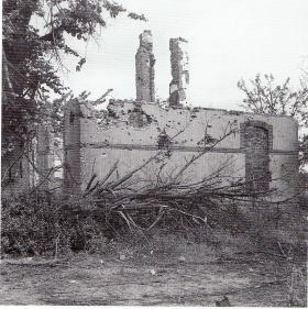 The remnants of Jim Taylor's base, Oosterbeek, Arnhem