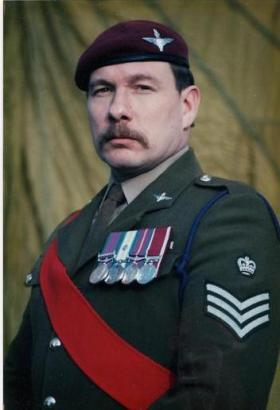'Yank' on Retirement in 1996 - after 22 yrs Service