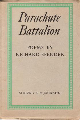 Book Cover for First Edition of Parachute Battalion
