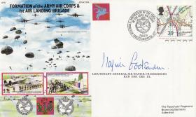 Commemorative Cover Formation of Army Air Corps and 1st Airlanding Brigade signed by Sir Napier Crookenden