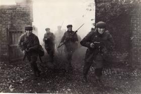 Men of No 2 Commando on exercise