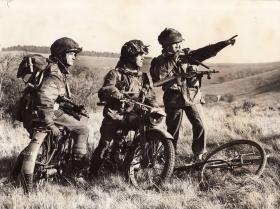 Paras on Airborne Motorbikes