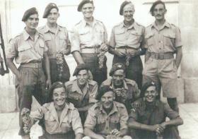 Men of the 2nd  Parachute Battalion in Altamura, Italy, 1943.