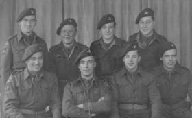 Group photo of soldiers from 7th (LI) Parachute Battalion
