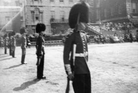 Soldiers of Guards Para Coy at the Horse Guards Parade, 1963