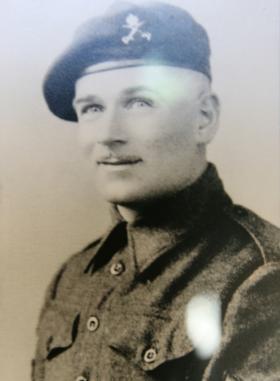 Portrait of S/Sgt H W Walker RAOC