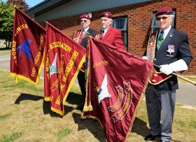 Dedication of New Parachute Regiment Association Standards, May 2010