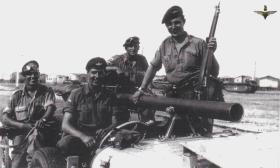 1 Para D Coy 106mm Anti-Tank Crew, Suez, 1956