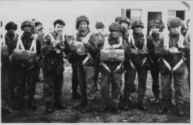 """A part of """"D"""" Company at RAF Station Boscombe Down 1957"""