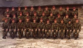 Officers mess, 4 Para, Vogelsang Germany c1979.