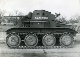 Side profile of Tetrarch Light Tank Mk VII, c1940s