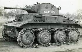 View of a Tetrarch tank c.1940s
