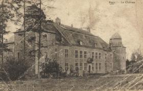 The Chateau at Bure, Ardennes, undated.
