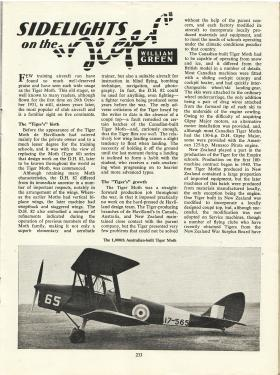 Tiger Moth article reproduced from Air Training Corps Gazette