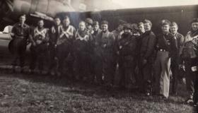 Tony Hibbert's Stick prior to emplaning for Arnhem
