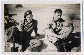 Transit Camp, Naples 1945