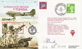 Tunisia Commemorative Cover signed by John Timothy
