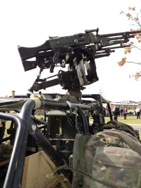 Twin GPMG Gunners position on WMIK