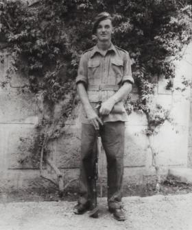 Portrait of Pte Edward Lee, Palestine