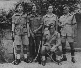 Soldiers of 3rd Battalion, Palestine