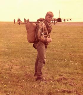Emplaning at RAF Waddington