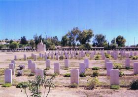 Waynes Keep Military Cemetery, Nicosia, Cyprus
