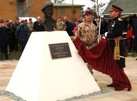Unveiling Of John Rock's Bust at Woodbridge, Suffolk.