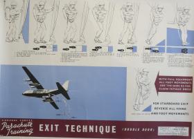 Poster of exit technique for double doors