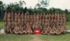 2 PARA, A-Coy. Belize. 1983