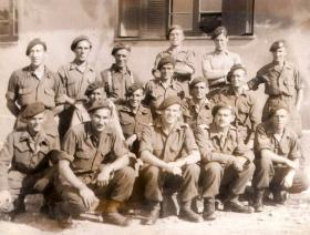 Members of A Company, 4th Para Bn, Athens 1944.