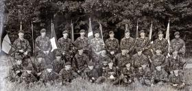 A Company, 1 PARA, NATO Challenge Cup Winners, Denmark 1983.