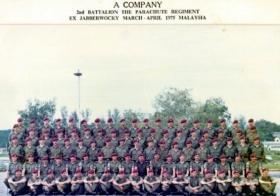 A Coy, 2 PARA, Exercise Jabberwocky, Malaya 1975.