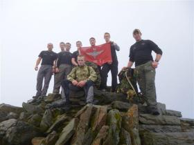 The Four Peaks Challenge to raise funds for The Afghan Trust, 2012.