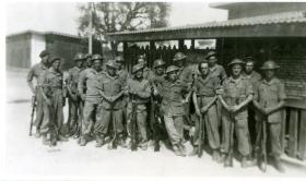 The boarding party of the HMIS Hindustan from A Coy, 15th (Kings) Battalion, India, February 1946