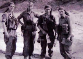 Platoon Commanders A Coy, 2 PARA, c1952