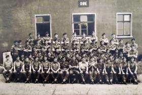 A Company 1 PARA Brunswick Germany, 1949.