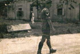 Frank Long of 7th (LI) Para Bn in Kuala Kangsar 1946
