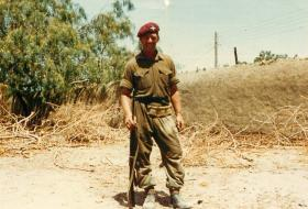 A Sergeant from the Parachute Regiment, Aden, 1967