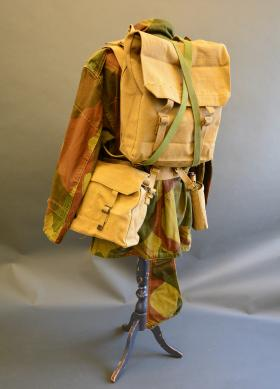 37 Pattern Large Pack attached, with Small Pack moved to Waist Belt from the Airborne Assault Museum Collection, Duxford.