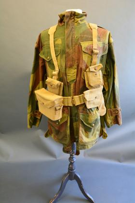 Officers 37 Pattern Web Set, from the Airborne Assault Museum Collection, Duxford.