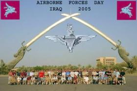 Airborne Forces Day, Baghdad, Iraq, 2005.