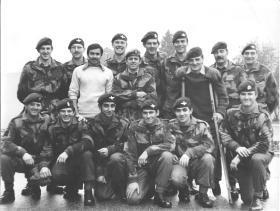 Parachute Training Course 16/73 No 1 PTS RAF Abingdon 26 November 1973