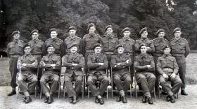 1st (Airborne) Ordnance Field Park, ROAC,  Fulbeck Hall, June 1944.