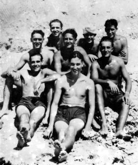 Members of Advance Landing Group 5th Para Brigade, Palestine, July 1946.