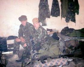 Ptes 'Ross' Phillipson and 'Jim' Hayden, Op Fingal, 2002.