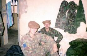 Ptes Phillipson and Quinton Daniels, 2 PARA, Op Fingal, 2002.