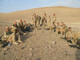 Members of 51 Para Sqn RE, Afghanistan 2006.