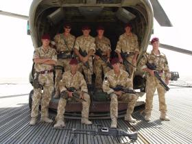 Members of 51 Para Sqn RE,Afghanistan 2006
